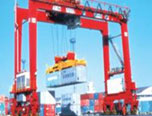Rubber-Tyred Gantry Crane, rail-mounted gantry cranes