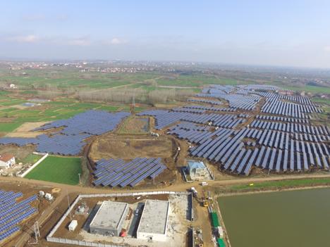 地面光伏项目2:襄阳茗峰南漳九集30MW光伏电站项目