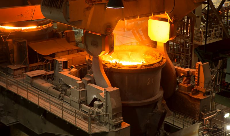 Unmanned Network System of Steel Coke Oven Smart Manufacturing